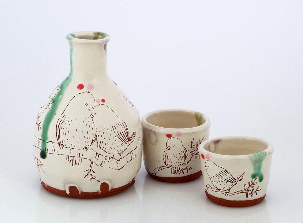 Ayumi-Horie-sake-set