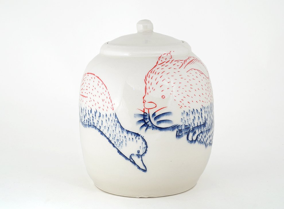 Ayumi_Horie-duck-and-rabbit-jar