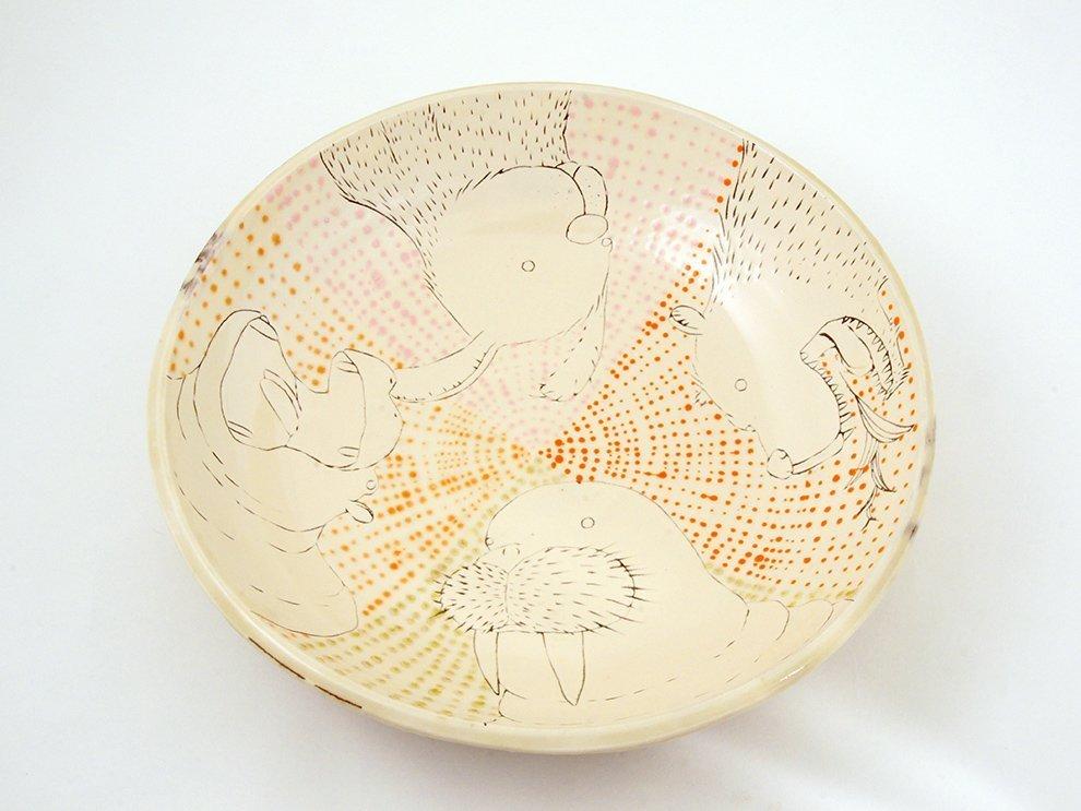 Ayumi_Horie_four-animal-bowl