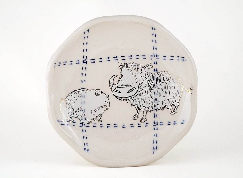 toad-and-warthog-plate