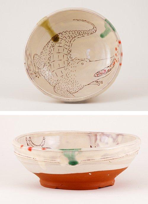 crocodile-bowl
